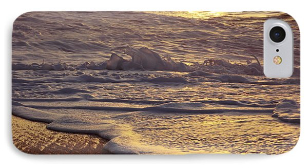 Sunset On Small Wave IPhone Case by Vince Cavataio - Printscapes