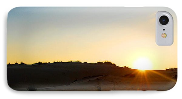 Sunset On The Dunes IPhone Case by Linda Mesibov