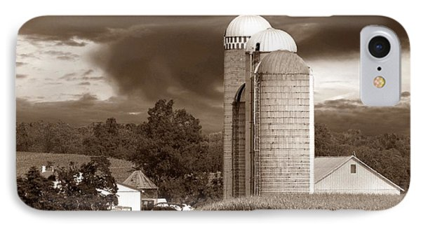 Sunset On The Farm S Phone Case by David Dehner