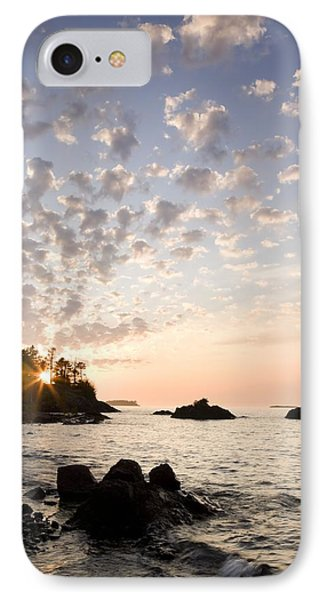 Sunset On The South Shores Of Lake Phone Case by Susan Dykstra