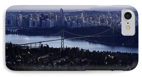 Sunset On Vancouver City Phone Case by Pierre Leclerc Photography