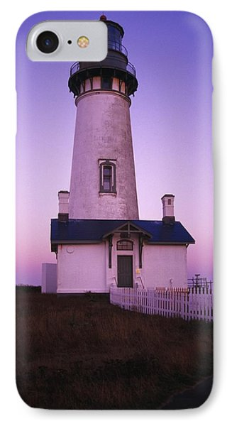 Sunset On Yaquina Head Lighthouse IPhone Case by Natural Selection Craig Tuttle