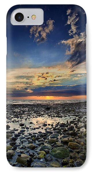 Sunset Over Bound Brook Island IPhone Case by Rick Berk