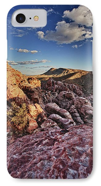 Sunset Over Red Rocks IPhone Case by Rick Berk