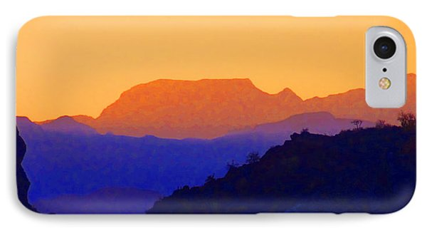 Sunset Over The Sierra Gigantes IPhone Case