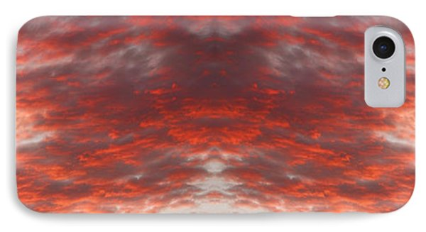 Sunset Panorama Psychedelic Trance Phone Case by James BO  Insogna