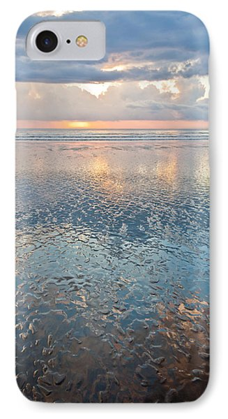 Sunset Reflection - Small Ripples IPhone Case by Anthony Doudt