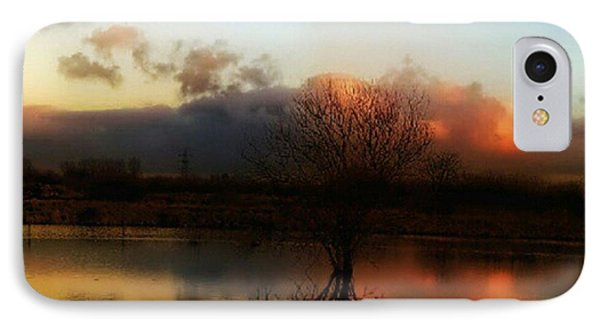 Sunset Reflections Phone Case by Isabella F Abbie Shores FRSA