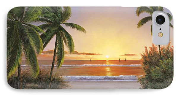 Sunset Sail Phone Case by Diane Romanello