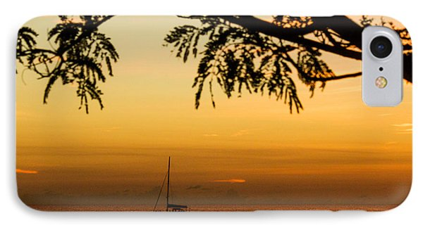 Sunset Sail Phone Case by Rene Triay Photography