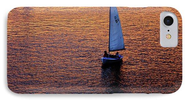 Sunset Sailing Phone Case by Rick Berk