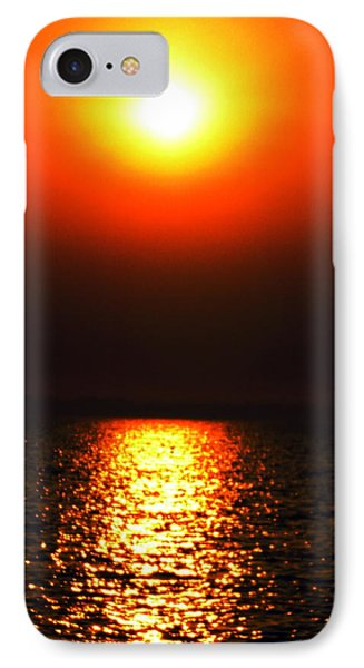 IPhone Case featuring the photograph sunset Santorini Greece by Colette V Hera  Guggenheim