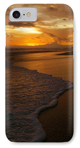 Sunset Surf Playa Hermosa Costa Rica Phone Case by Michelle Wiarda