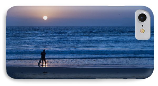 Sunset Surfer Phone Case by Heidi Smith