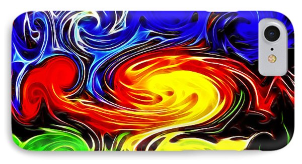Sunset Swirl Phone Case by Stephen Younts