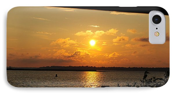 IPhone Case featuring the photograph Sunset Through The Rails by Michael Frank Jr