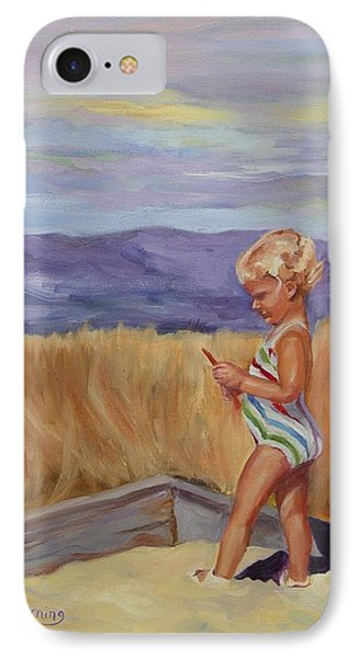 IPhone Case featuring the painting Sunshine And Shadows by Carol Berning