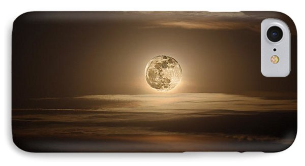 Super Moon Of 2012 Phone Case by Elizabeth Hart