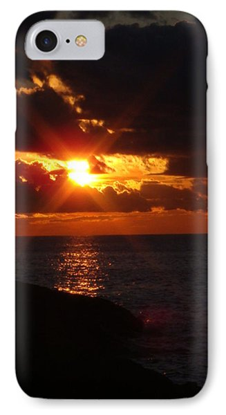 IPhone Case featuring the photograph Superior Sunset by Bonfire Photography