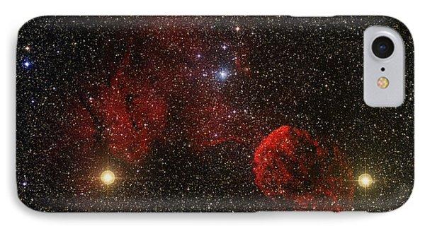 Supernova Remnant Ic 443 IPhone Case by Mpia-hd, Birkle, Slawik