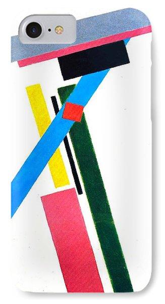 Suprematism Phone Case by Kazimir Severinovich Malevich