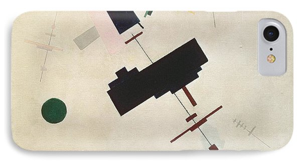 Suprematist Composition No 56 Phone Case by Kazimir Severinovich Malevich