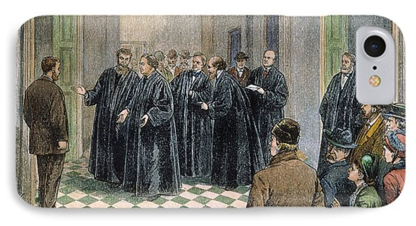 Supreme Court, 1881 Phone Case by Granger