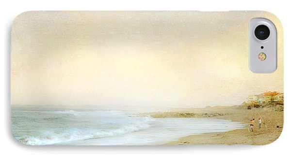 Surf Casters IPhone Case by Karen Lynch