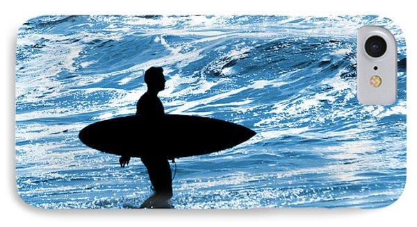 Surfer Silhouette Phone Case by Carlos Caetano
