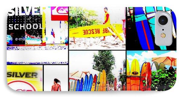 Surfing Bali Beaches Phone Case by Funkpix Photo Hunter