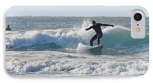Surfing The Atlantic Phone Case by Brian Roscorla