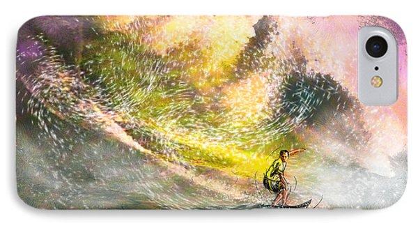 Surfscape 02 Phone Case by Miki De Goodaboom