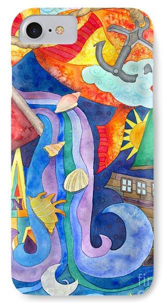 Surreal Seascape IPhone Case by Kristen Fox