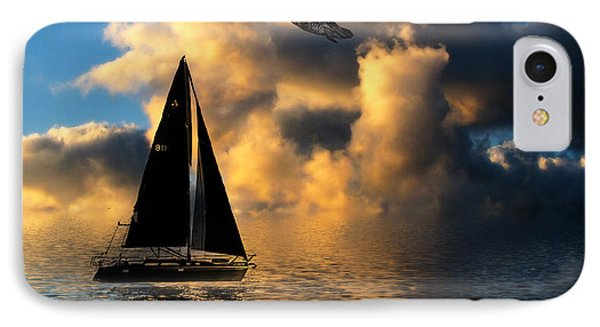 IPhone Case featuring the photograph Surreal Seaside by Cindy Haggerty