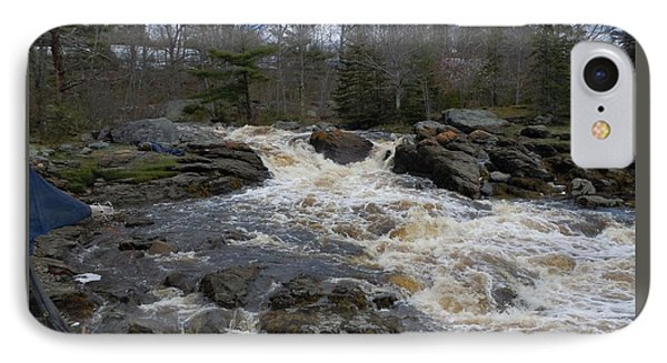 IPhone Case featuring the photograph Surry Falls by Francine Frank