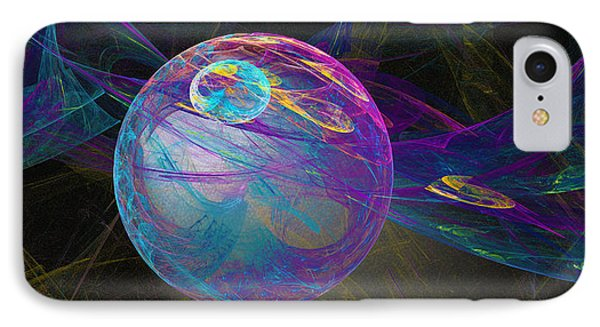 IPhone Case featuring the digital art Suspension by Victoria Harrington