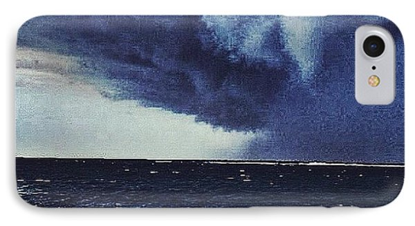 #svcstorms #hurrican #ike Is On Its Way Phone Case by Andy Lee
