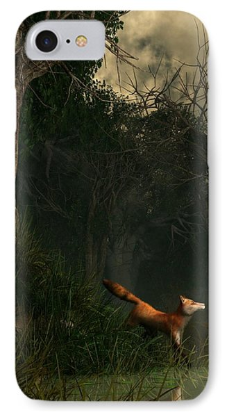 Swamp Fox Phone Case by Daniel Eskridge