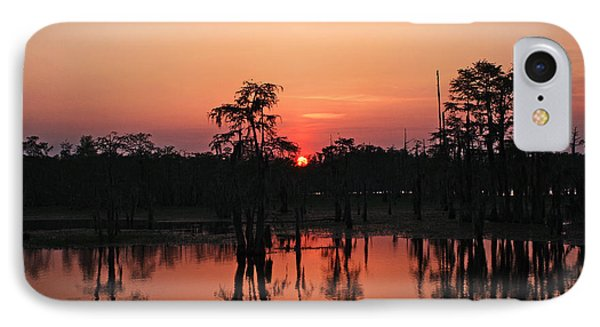 IPhone Case featuring the photograph Swamp Sunset by Luana K Perez