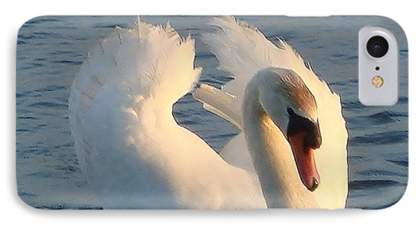 IPhone Case featuring the photograph Swan by Katy Mei
