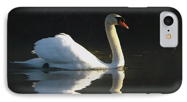 IPhone Case featuring the photograph Swan Lake  by Gerald Strine