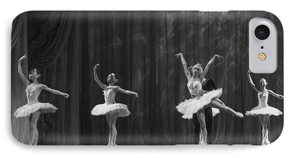 Swan Lake  White Adagio  Russia 4 Phone Case by Clare Bambers