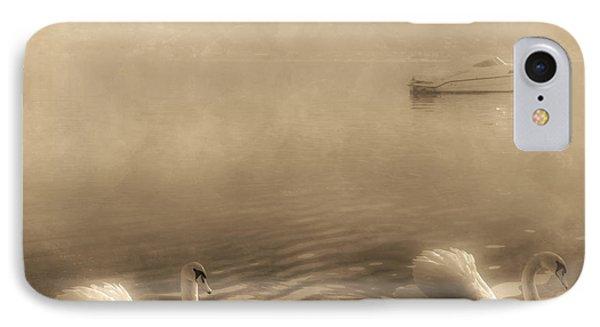 Swans Phone Case by Joana Kruse