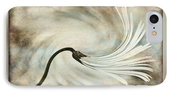 Sweeping Petals Phone Case by Kaye Menner