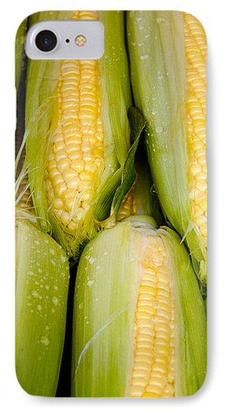 Sweet Corn Phone Case by Jen Morrison