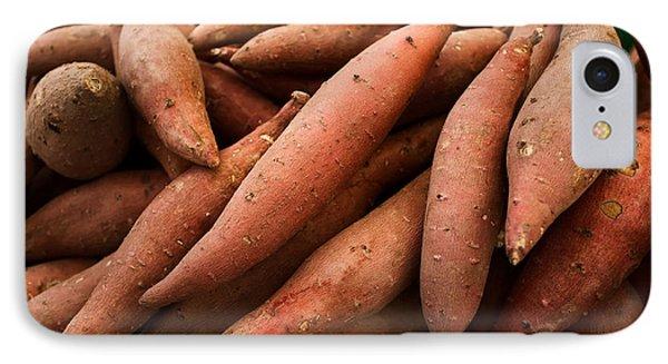 Sweet Potatoes Phone Case by Tanya Harrison