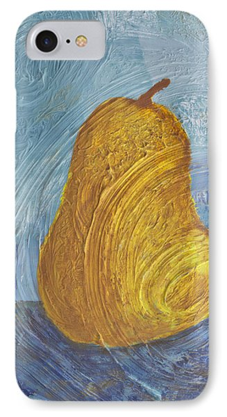 Swirling Pear Phone Case by Wayne Potrafka