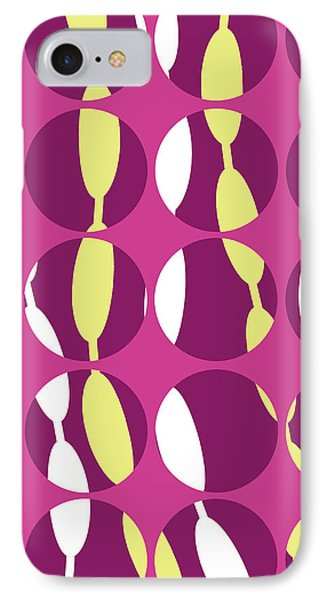 Swirly Stripe Phone Case by Louisa Knight