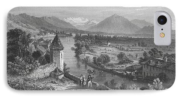 Switzerland: Thun, 1833 Phone Case by Granger