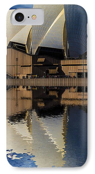 Sydney Opera House Abstract Phone Case by Avalon Fine Art Photography